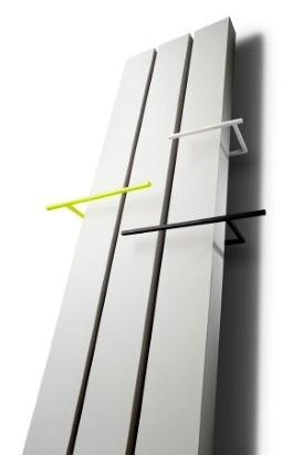 nowoczesne grzejniki łazienkowe formy Vasco po założeniu kolorowych uchwytów może być wygodny również w łazience