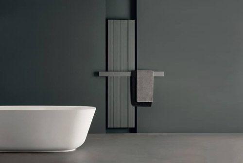nowoczesne grzejniki łazienkowe Bit zaprojektowane przez Antonio Lupi dla firmy Sironi