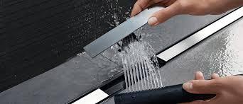 odpływ liniowy Geberit CleanLine jest cienki i łatwy w czyszczeniu k
