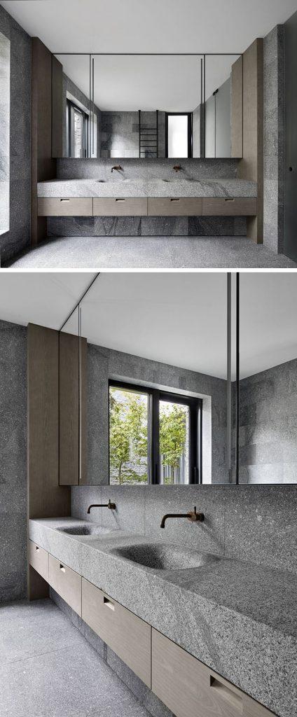 granitowa łazienka