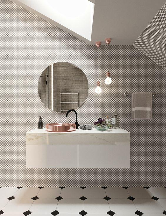 do tej umywalki pasuje idealnie okrągłe lustro