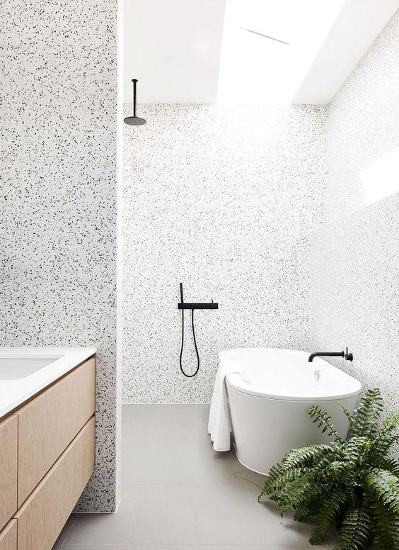 lastryko terazzo w łazience
